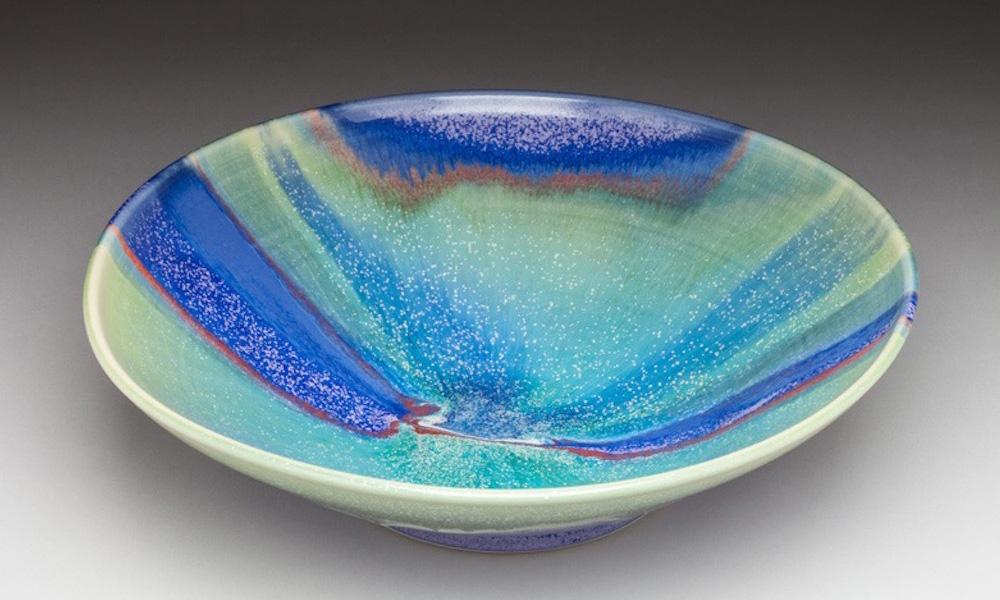 Seafoam Green Serving Bowl