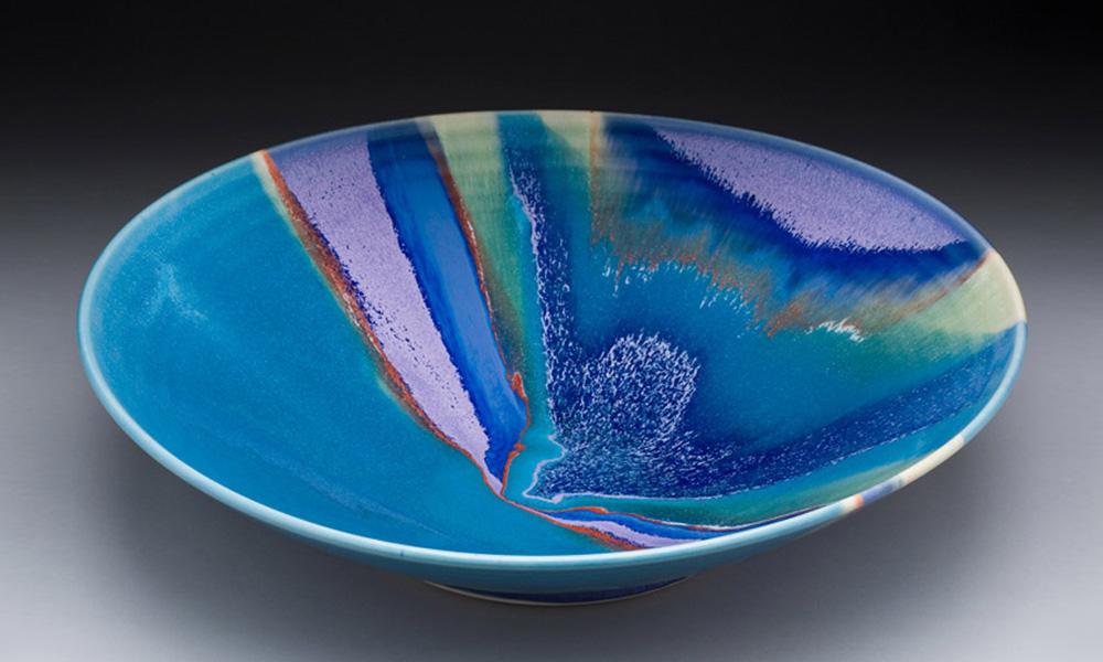 Large Turquoise Bowl